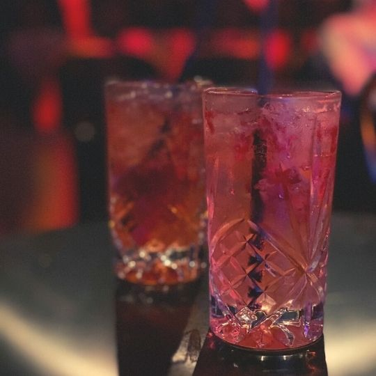 Special alcohol-free mocktails at Eternity Playhouse, Darlinghurst theatre NSW Australia